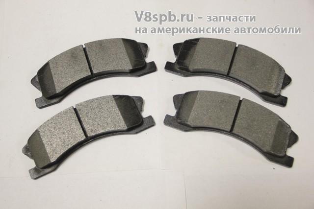PGD945M Колодки тормозные, передние  akebono